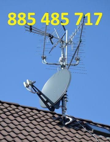 USTAWIANIE, MONTAŻ, naprawa, serwis anten satelitarnych i naziemnych