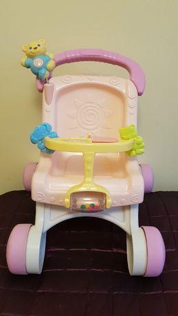 Wózek dla lalek-pchacz Fisher Price