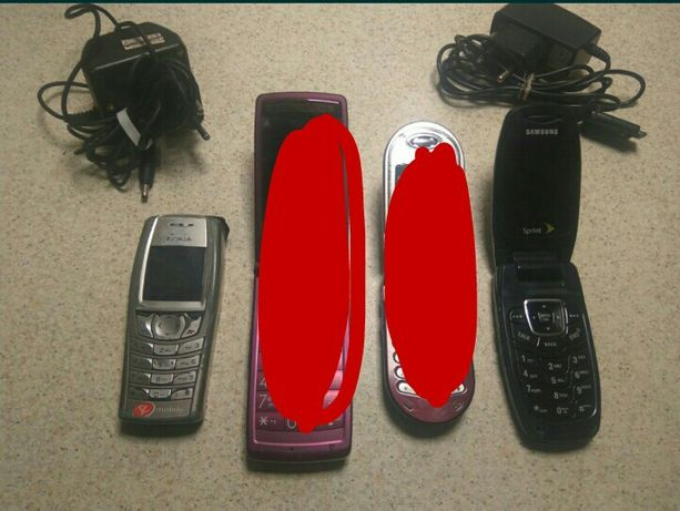 цена за всё. Nokia 6585 и раскладушка Samsung