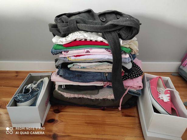 Paka ubrań dla dziewczynki 146/152