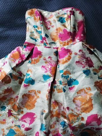 Sukienka Rou na wesele koktajlowa bombka Lou