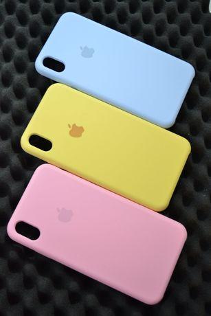 Чехол iPhone Silicone case original /7/8/5/6/6s/8+/7+/X/XS/XR.