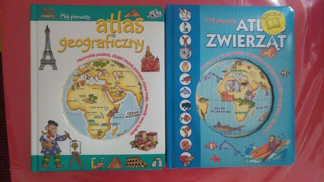 Atlas geograficzny. Atlas zwierząt