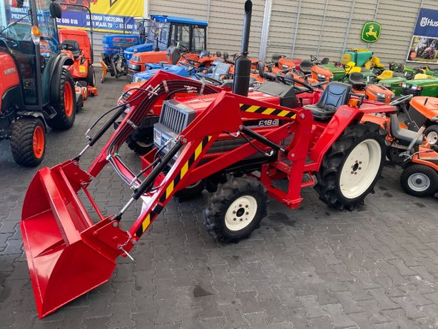 Traktorek ogrodniczy YANMAR F18D 21.5KM AWD 4X4 diesel manual ładowacz