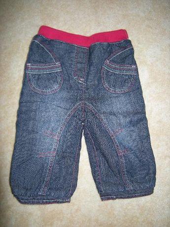Ciepłe wiosenne spodnie