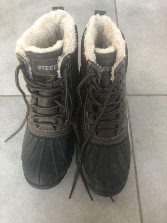 Ciepłe buty stajenne rozm 42