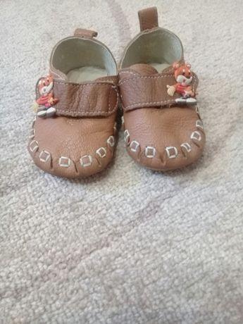 детские ботиночки размер 19