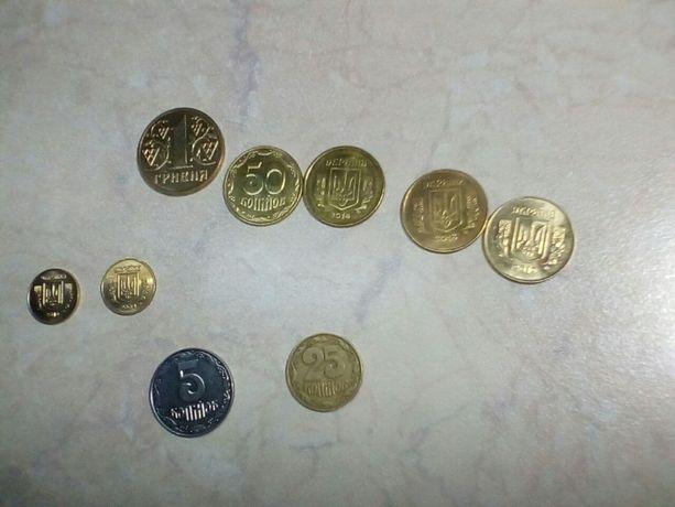 монеты Украины в штемпельном блеске