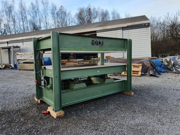 Prasa półkowa OTT 255x 135 cm prasa do forniru