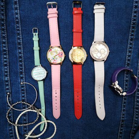 Много женских часов,часы