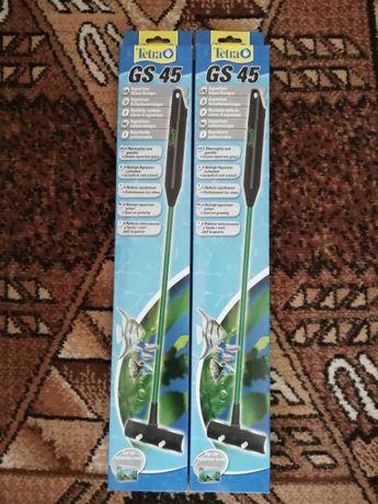 Tetra GS 45, аквариумный скребок, новые