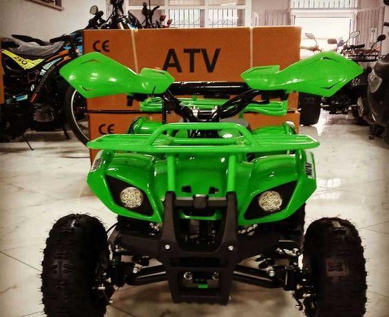 Квадроцикл детский 3-8 лет. Бензин. Двухтактный двигатель. 45 км/час.