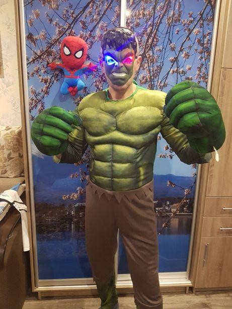 Костюм Героя Марвел:Капитан Америка, Халк,Железный человек и др. герои