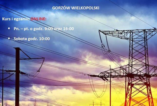 GORZÓW WIELKOPOLSKI uprawnienia SEP sepowskie G1/2/3 kursy ONLINE
