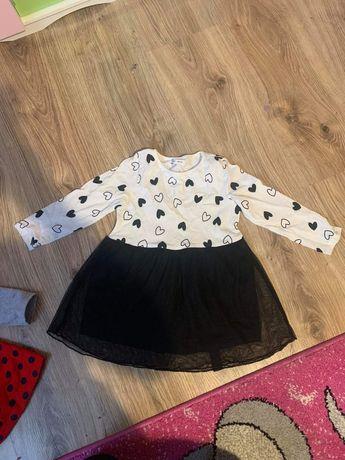 Sukienki i Bluzy dla Dziewczynki rozmiar 86-98