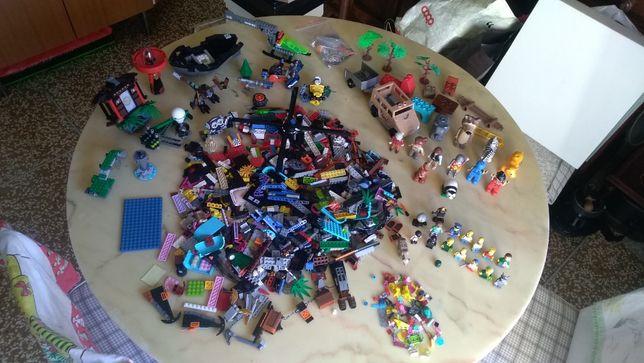 Конструктор LEGO разное + большое LEGO +персонажи симсон ORIGINAL