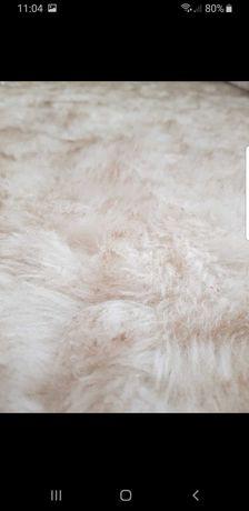 Dywan biało-brązowy