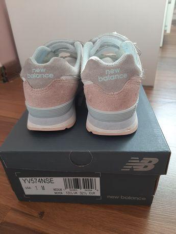 Buty sportowe New Balance 32,5 dla dziewczynki