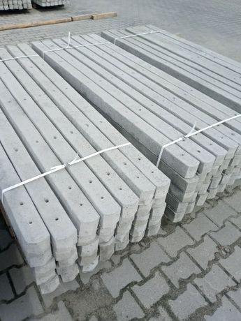 Słupki betonowe  Promocja 10 zł mb Producent ogrodzenia