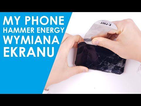Wyświetlacz MYPHONE HAMMER ENERGY dotyk ekran szybka wymiana