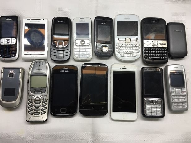 Lote de telemóveis