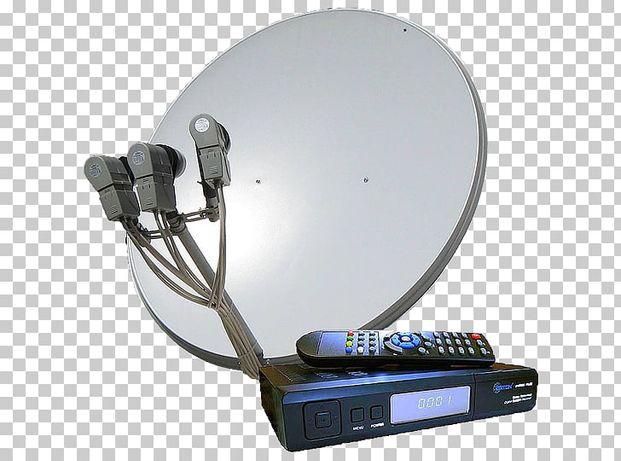 Качественная установка спутниковых антенн и антенн Т2.