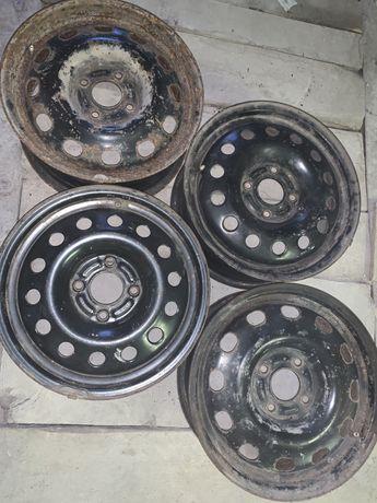Диски металеві стальные Ford Audi 4 108 R15