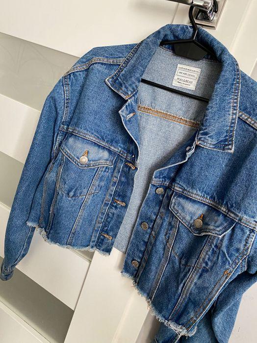 Kurtka jeansowa modna krótka Pull&Bear Jarocin - image 1