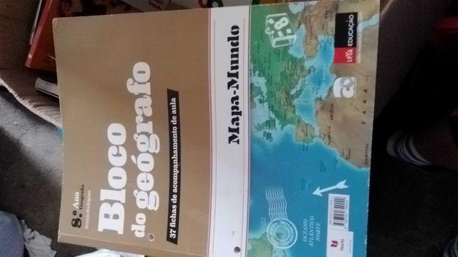 Manual/Livro de Fichas /atividades- Diversos 8º ano