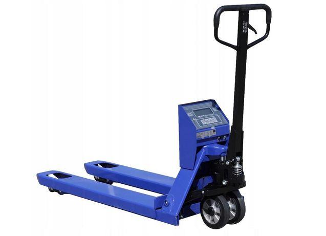 Wózek paletowy z wagą KPZ 71-9 z legalizacją. Ocena Zgodności Urzędu