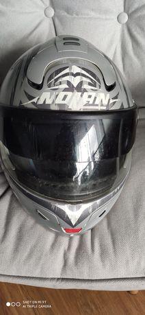 Kask motocyklowy quad firmy Nolan