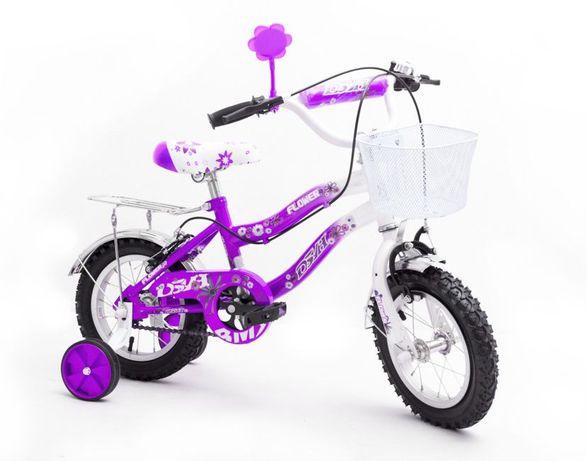 Rower Rowerek Dziecięcy 12 cali Dla Dziewczynki Gwarancja NOWY