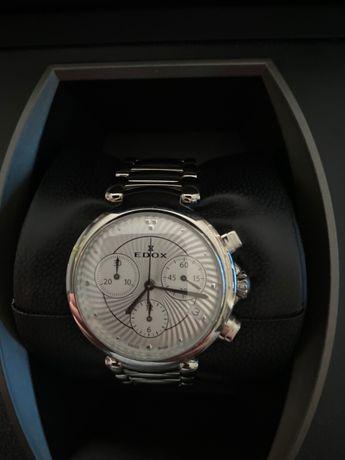 Zegarek damski Edox LaPassion Chronograph 10220-3M-AIN