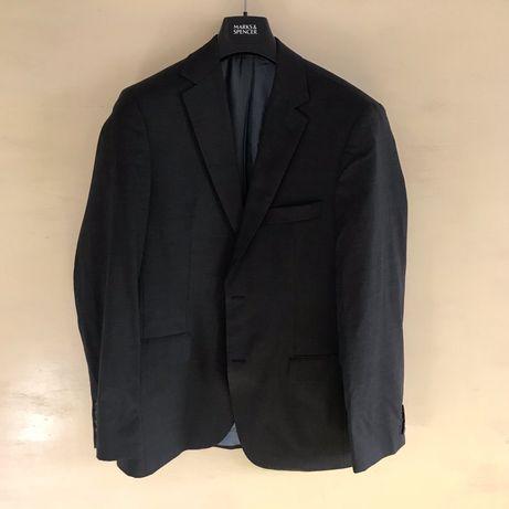 Пиджак (блейзер) Hugo Boss темно-серого цвета