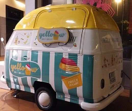 Street Food - Pao de forma VW