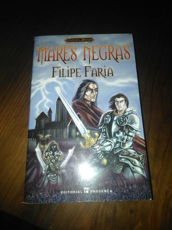 Livro Marés Negras de Filipe Faria