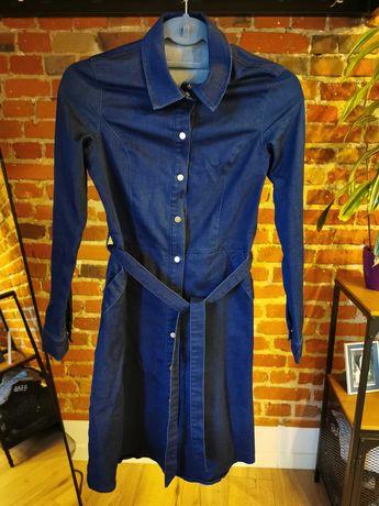 Jeansowa sukienka Orsay XS