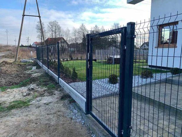 Furtka ogrodzeniowa panelowa, brama skrzydłowa, brama przesuwna