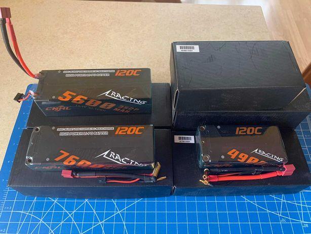 CNHL LiPo 2s 3s 4s 7.4v 11.1v 5600mah 7600  120с traxxas аккумуляторы