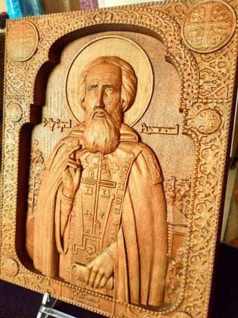 икона  Св. Пр. Сергий Радонежский