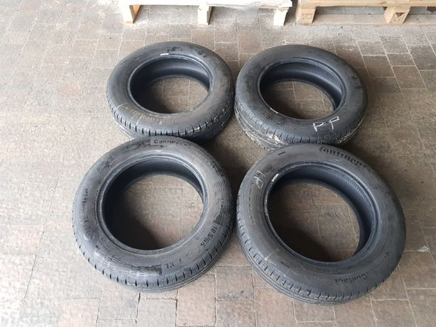 Opony letnie Continental ContiEcoContact 185/65 r15, 6mm, 2017r., 4szt