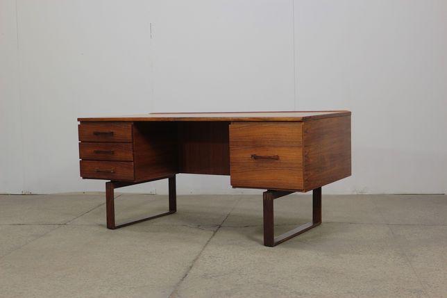 Duńskie biurko projektu Henninga Jensena lata 60