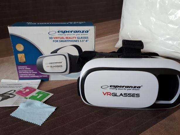 "esperanza Gogle VR dla smartfonów 3.5""-6"