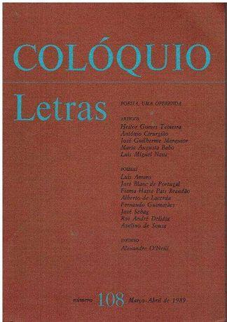 3607 - Revista Colóquio / Letras (Várias)