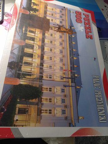 Puzzle Pałac Prezydencki 500 el