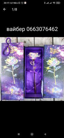 Роза в подарочной упаковке