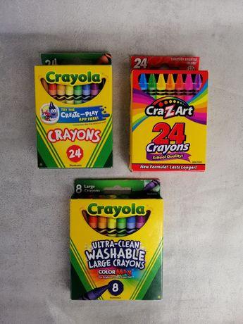 Crayola карандаши Crazart восковые маркеры