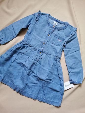Джинсовое платье фирмы Carter's Картерс 3 года (93-98 см)