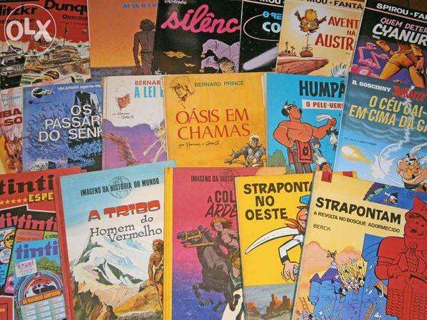 BD franco-belga (vários livros em português)