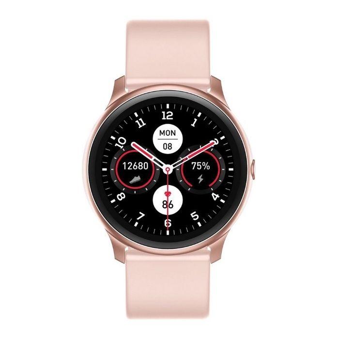 Smartwatch Różowy Czarny KW13 Zegarek Elegancki Sportowy AMOLED Bydgoszcz - image 1